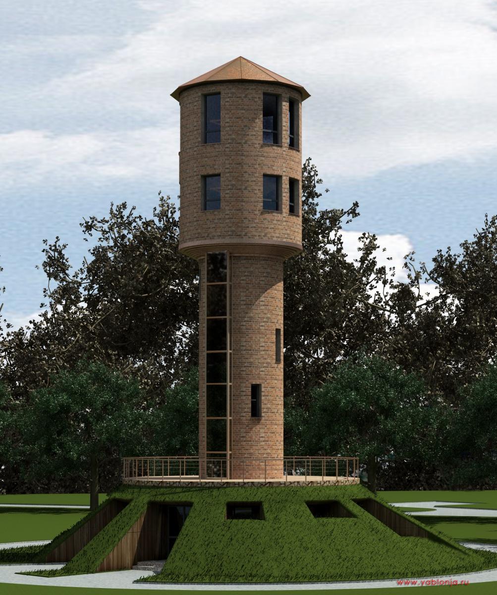 Башни частного дома фото